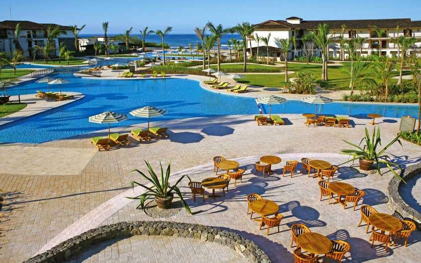 JW Marriott Guanacaste Resort & Spa is the only international branded hotel close to Tamarindo town