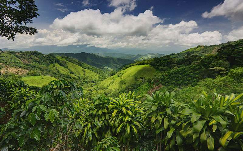 Mountains in Costa Rica