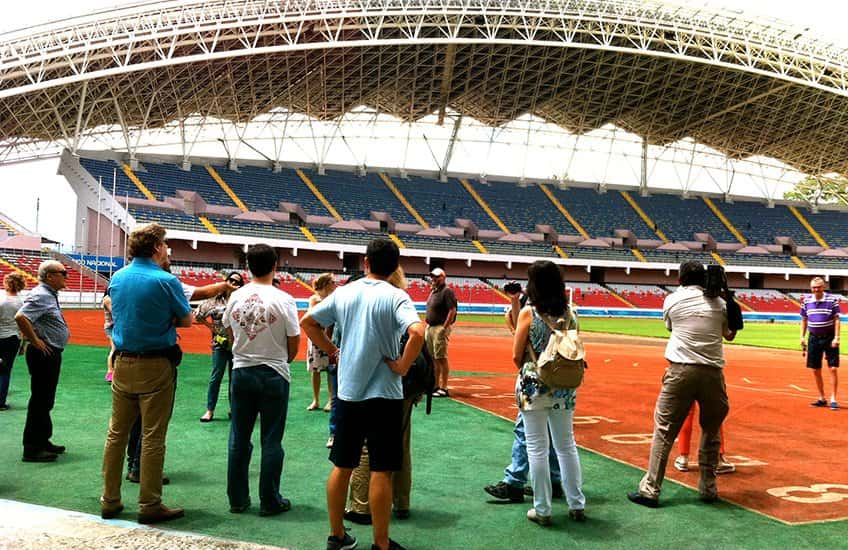 The National Stadium of Costa Rica is located in San Jose, next to the popular La Sabana Metropolitan Park. Concerts, football, and sports are hosted here.
