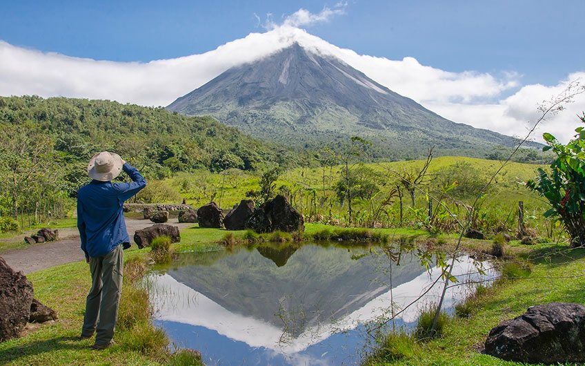 Arenal Volcano National Park in Costa Rica.