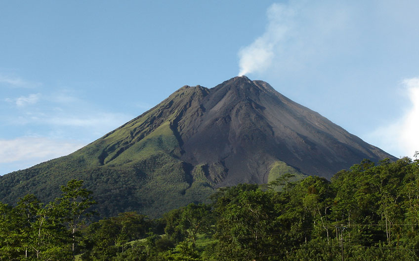 History Arenal Volcano National Park