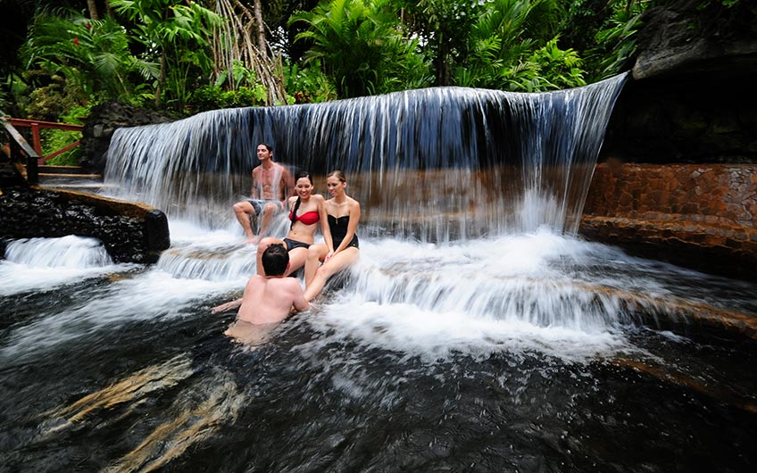 Hot Springs, Enjoy the Pura Vida, try: the Discover Costa Rica vacation package
