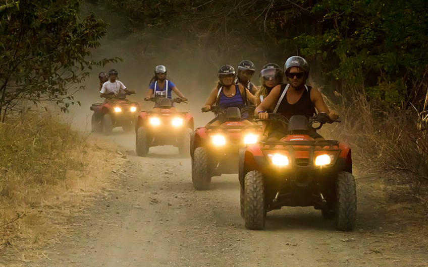 ATV in Tamarindo Beach