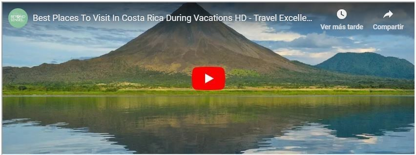 Video Best Places To Visit In Costa Rica During Vacations