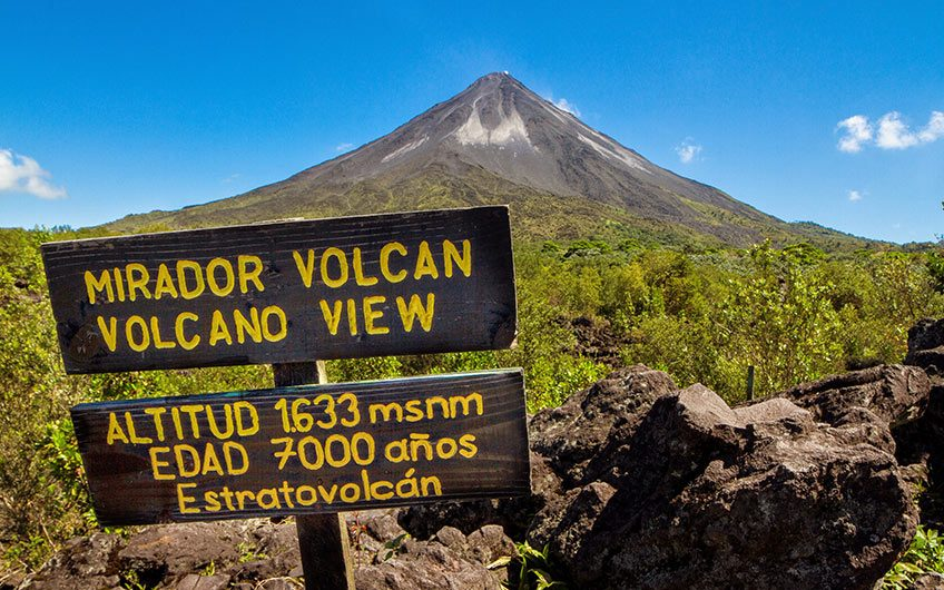 Arenal Volcano, Enjoy the Pura Vida, try: the Discover Costa Rica vacation package