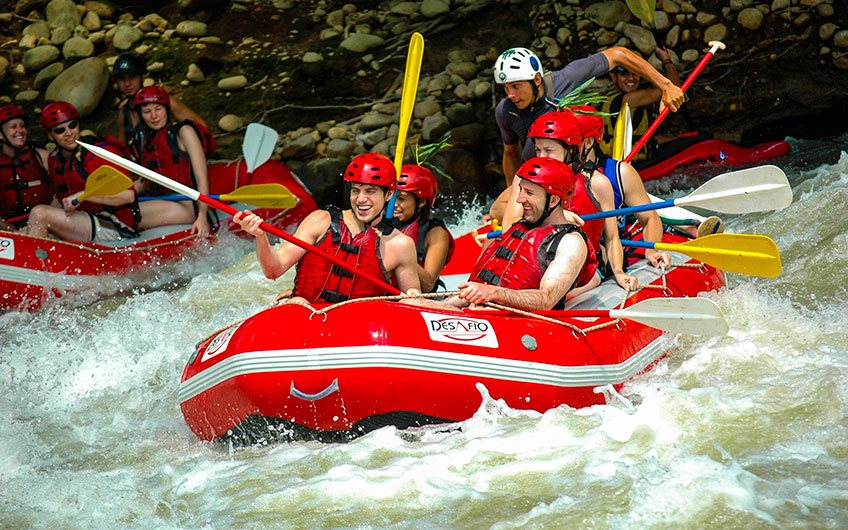 What to do in Costa Rica?: 100% Outdoor Adventure White Water Rafting in Pacuare River