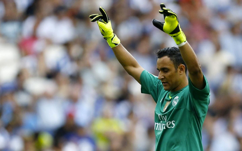 "38c0c16849f World s happiest goalie"" Keylor Navas in the new promotional ..."
