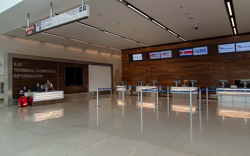 San Jose Costa Rica direct flights can arrive and departure from the main international airport of the country. Here, can be found a domestic airstrip too.