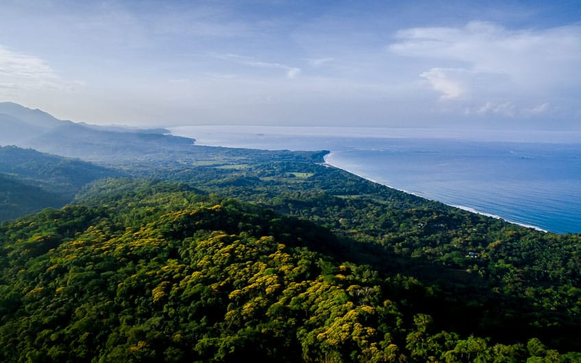 Uvita Costa Rica Aerial View