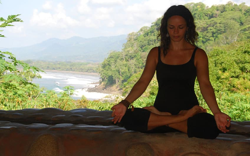 Yoga en La Cusinga Hotel