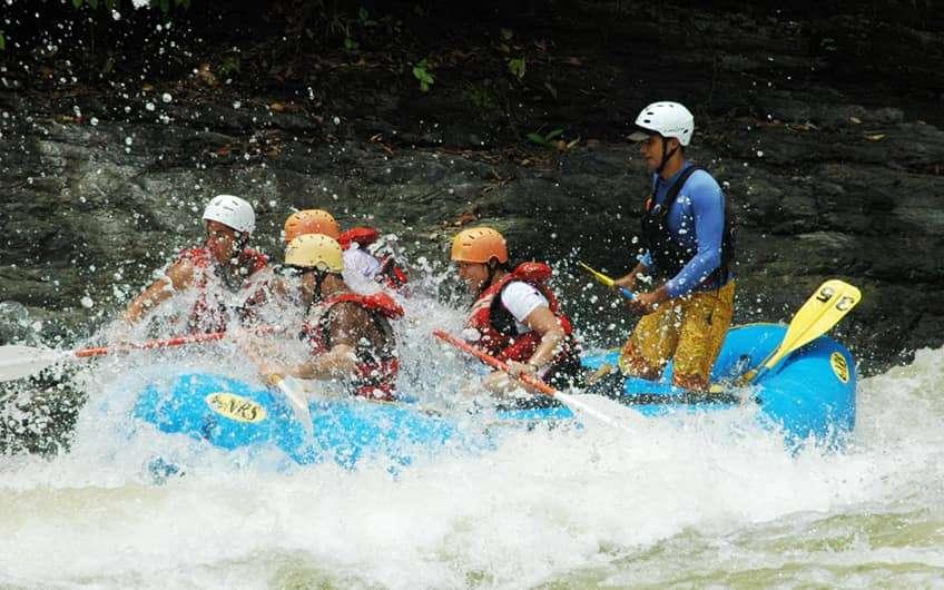 Jaco Beach Costa Rica, Wildwasser-Rafting