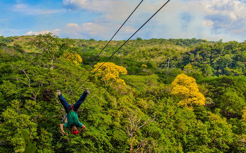 Costa Rica Canopy Tours adventure in Monteverde