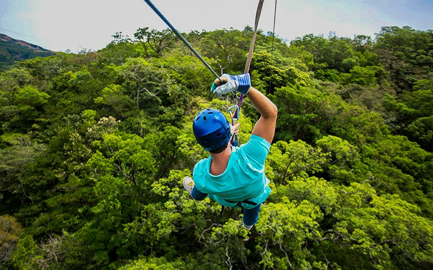 Costa Rica Canopy Tours adventure in Guanacaste