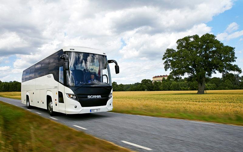 guía y transporte Scania