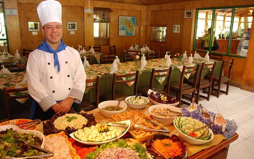 San Gerardo Costa Rica food and restaurants