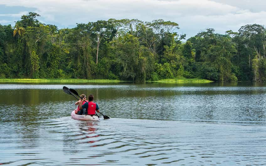 Tortuguero Costa Rica, Kayaking