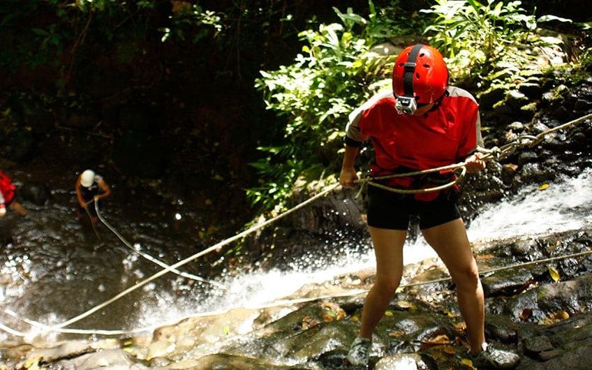 Adventure activities in Turrialba