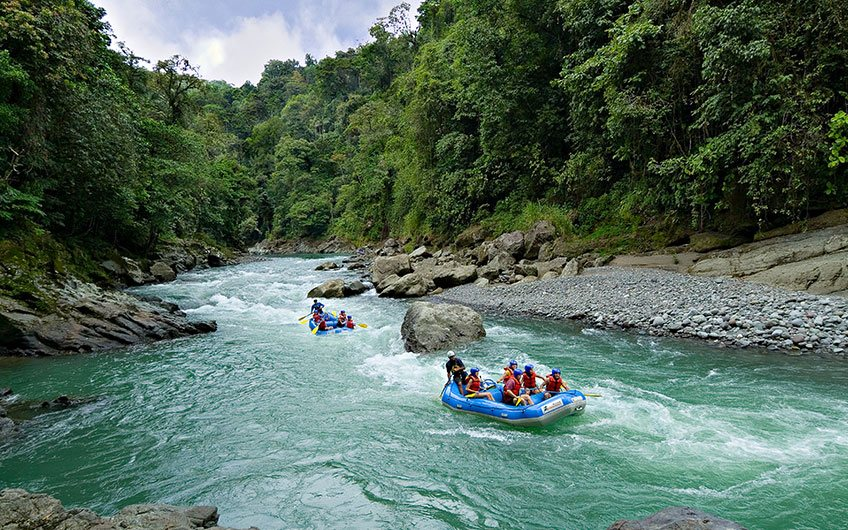 Pacuare River for Rafting