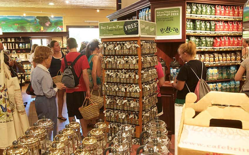 Costa Rica's coffee is worldwide famous and while in San Jose you can find different places to taste it and buy. It is possible to take coffee tours near the city.