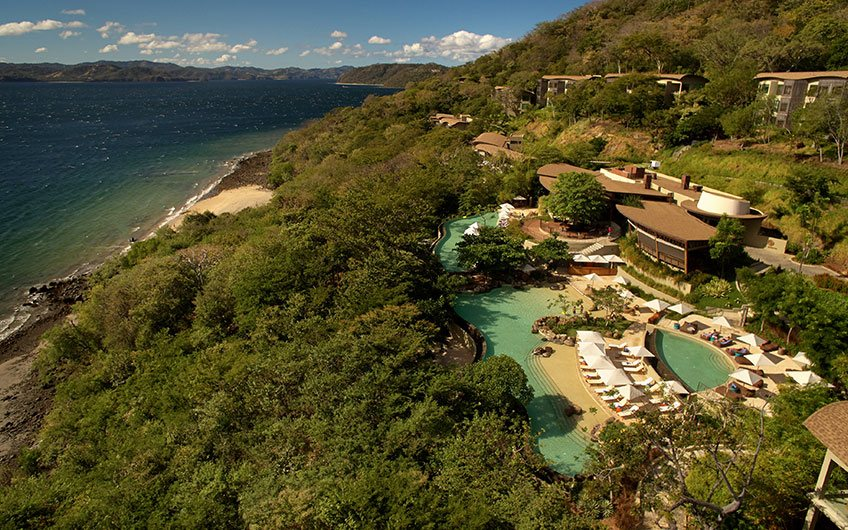 Andaz Hotel in Papagayo Guanacaste Costa Rica, Aereal View