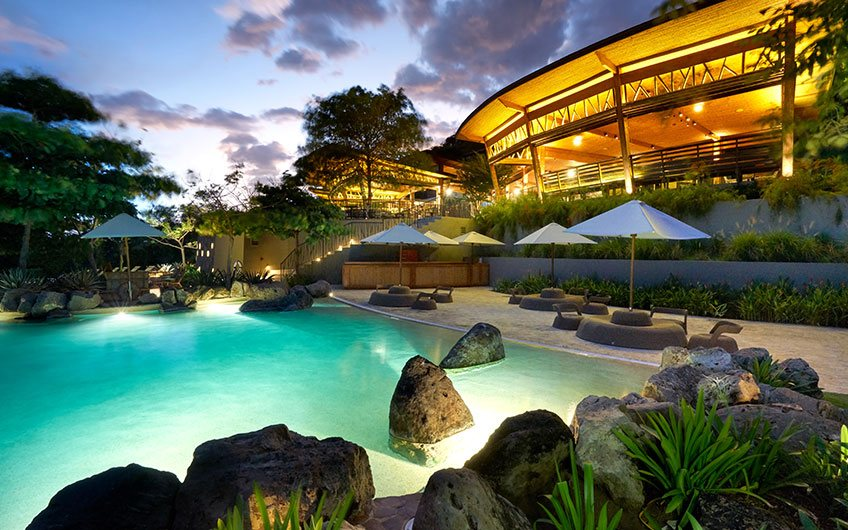 Andaz Hotel in Papagayo Guanacaste Costa Rica, Hotel And pool