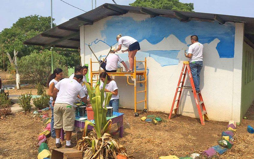 Andaz Hotel in Papagayo Guanacaste Costa Rica, Visit a school