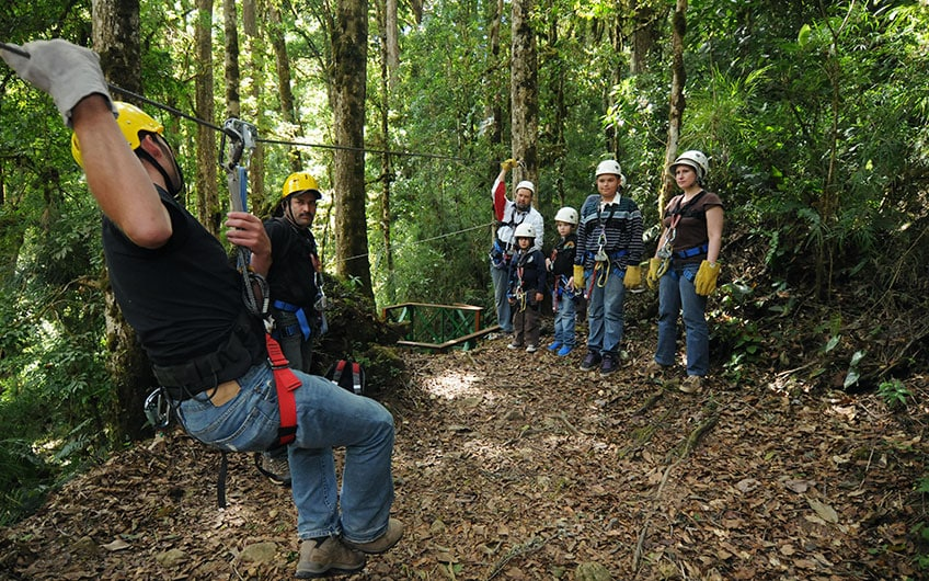 Costa Rica a Haven for Family Vacations walking