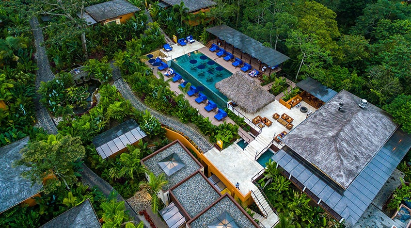 Costa Rica hotels: Luxury and high-quality sustainability standards Nayara Springs