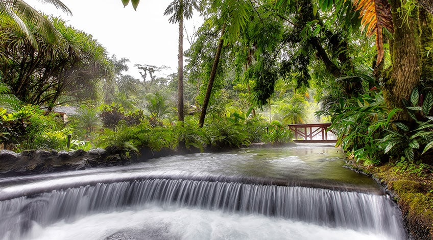 Costa Rica hotels: Luxury and high-quality sustainability standards Tabacon Hotel
