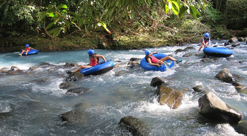 Costa Rica Tours: one-day activities to enjoy in Arenal: Tubing