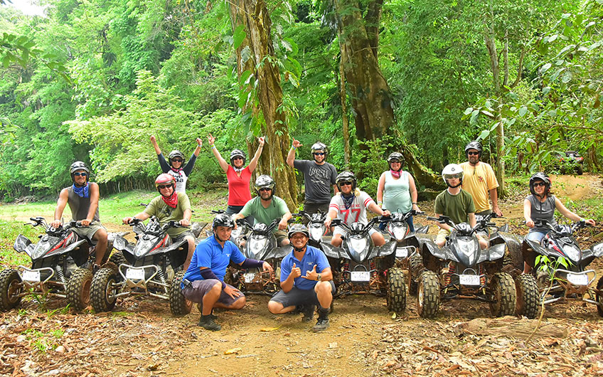 ATV tour in Manuel Antonio Costa Rica