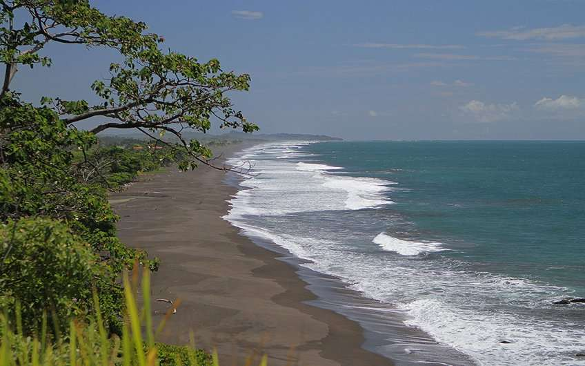 Hermosa Beach in Jaco Costa Rica