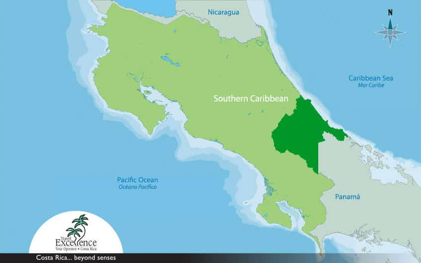 Southern Caribbean Map