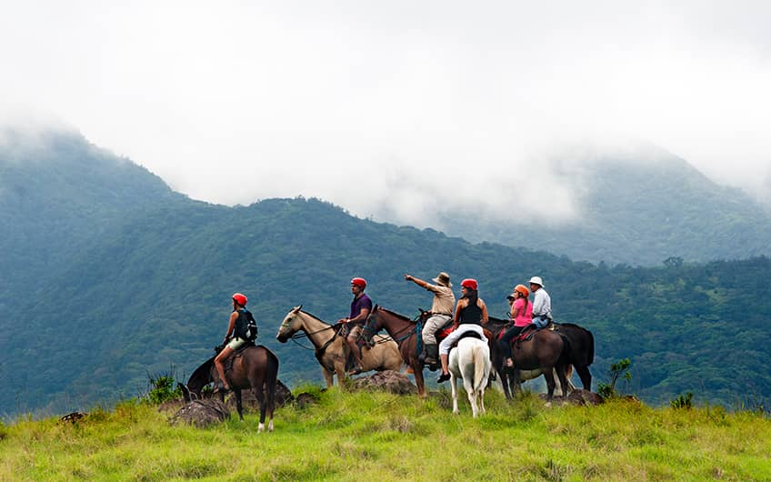 Monteverde Costa Rica, Horseback riding