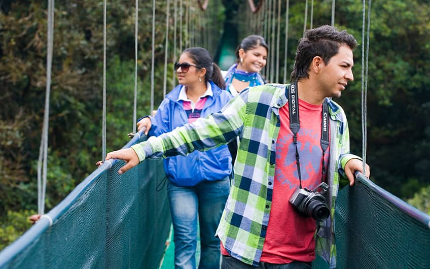 Monteverde Costa Rica, Sky Walk and Sky Trek Suspension Bridges