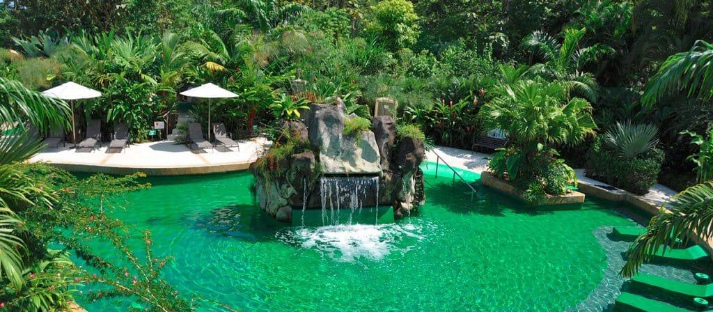Paradise hot spring