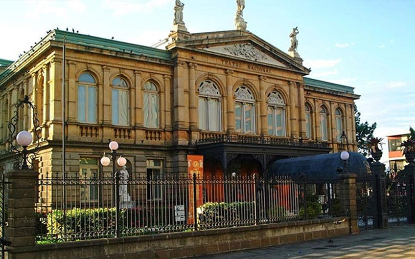 National Theater, Interest activities to do in San Jose, Costa Rica