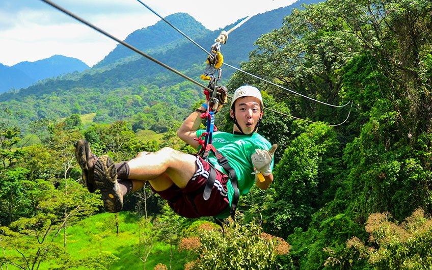What to do in Costa Rica?: 100% Outdoor Adventure Canopy Tour in San Jose