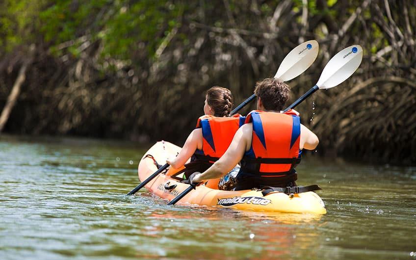 Kayak in Dominical and Uvita Costa Rica