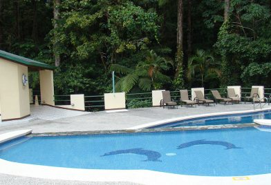 Hotel arenal Observatory Lodge pool