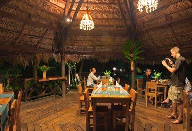 Restaurant at Azania Bungalows