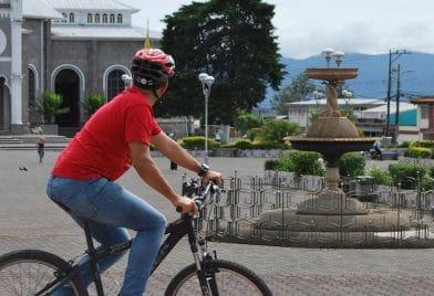 Biking tour at Cartago