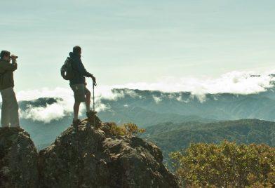Walking To Cerro De La Muerte