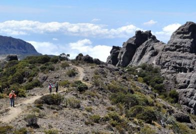 Caminata en Chirripó
