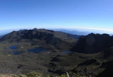 Vistas desde el Cerro Chirripó