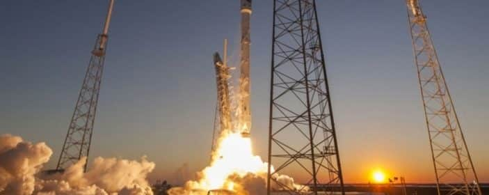 Costa Rican satellite launched in space aboard a Falcon 9 of SpaceX company