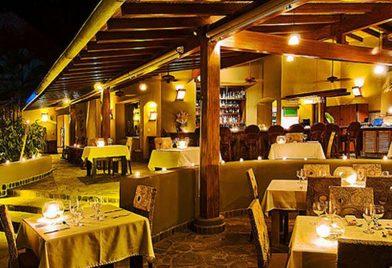 Flor Blanca Hotel restaurant