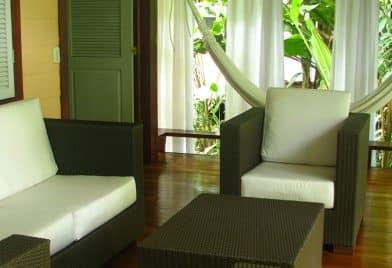 Room terrace at Namuwoki Lodge