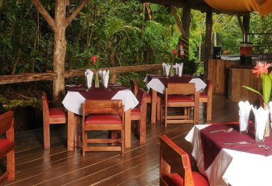 Pozo Azul restaurant