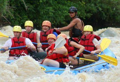 Naranjo River Rafting Tour From Jaco